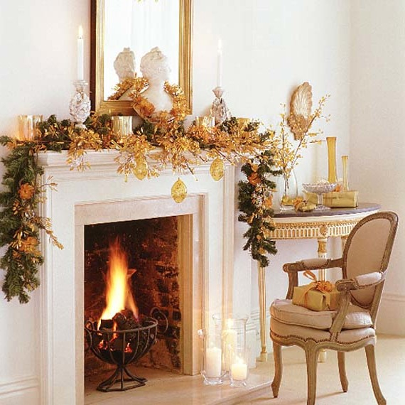 Mantel Decor Ideas For A Magical Christmas (3)