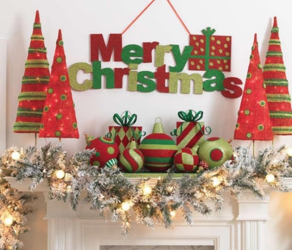 Mantel Decor Ideas For A Magical Christmas (4)
