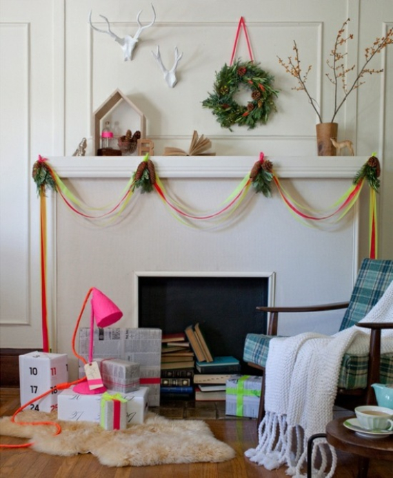 Mantel Decor Ideas For A Magical Christmas (5)
