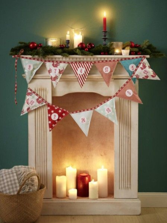 Mantel Decor Ideas For A Magical Christmas (8)