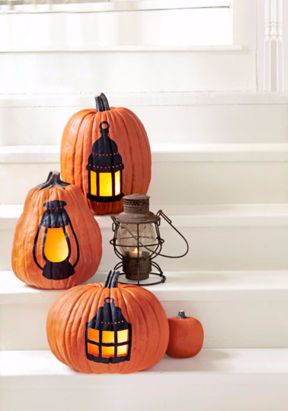 Ways to Decorate for Fall, Halloween and Thanksgiving With Pumpkins (10)
