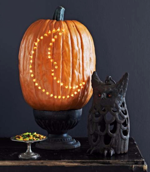 Ways to Decorate for Fall, Halloween and Thanksgiving With Pumpkins (11)