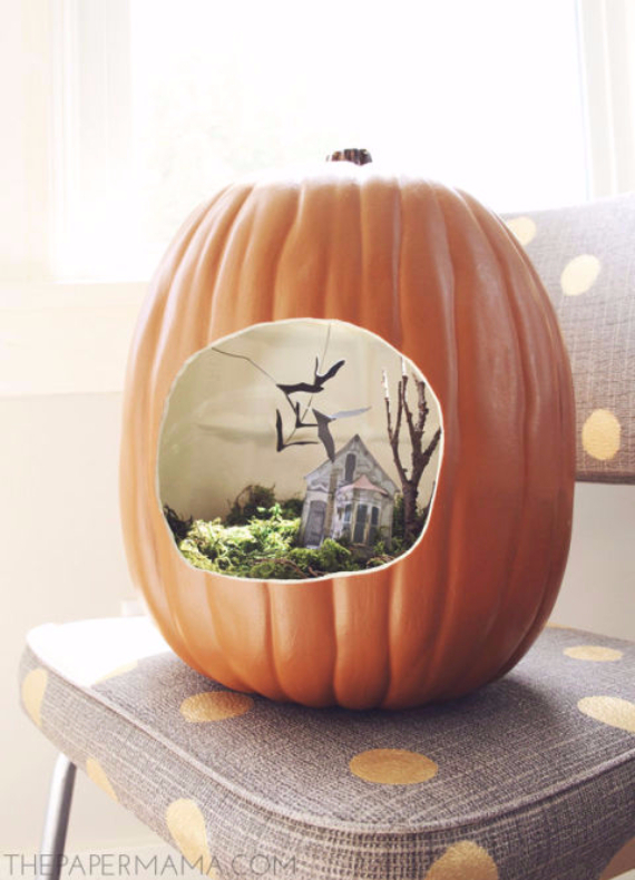 Ways to Decorate for Fall, Halloween and Thanksgiving With Pumpkins (26)