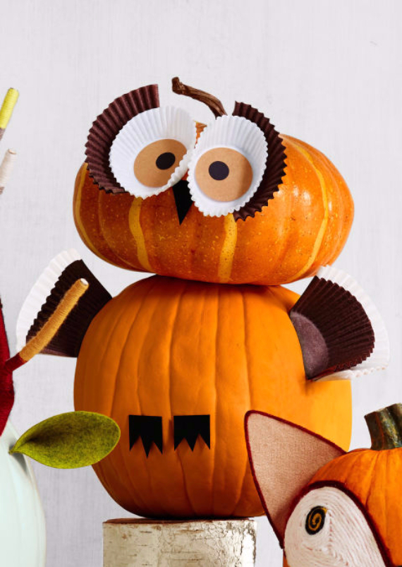 Ways to Decorate for Fall, Halloween and Thanksgiving With Pumpkins (30)