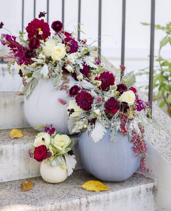 Ways to Decorate for Fall, Halloween and Thanksgiving With Pumpkins (36)