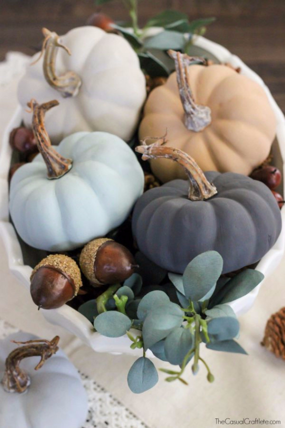 Ways to Decorate for Fall, Halloween and Thanksgiving With Pumpkins (44)
