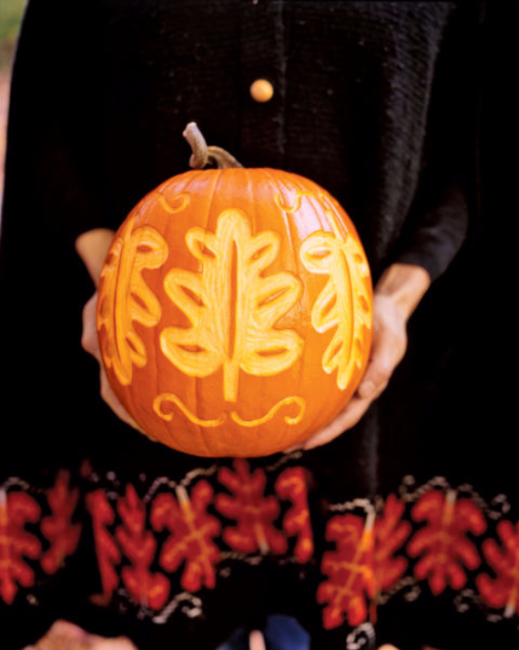 Ways to Decorate for Fall, Halloween and Thanksgiving With Pumpkins (5)