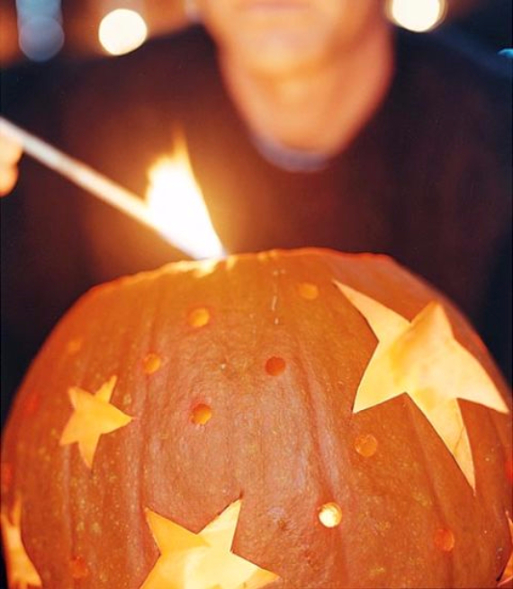 Ways to Decorate for Fall, Halloween and Thanksgiving With Pumpkins (6)