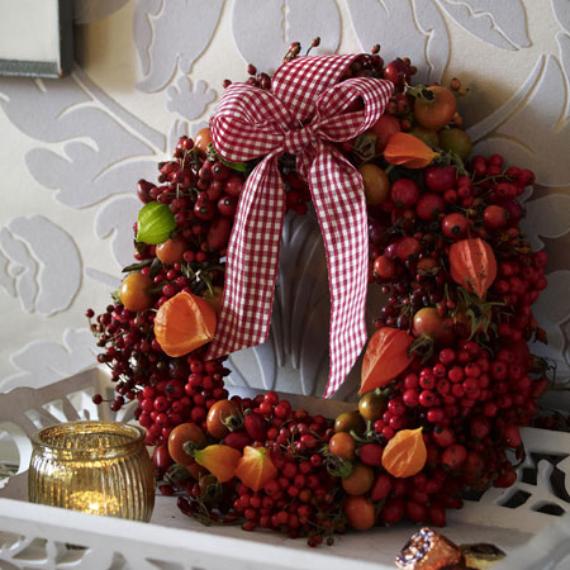 15 Amazing Fall Wreath Ideas For Autumn spirit (1)