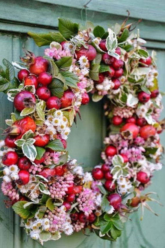 Autumnal Decorating Ideas With Pomegranates