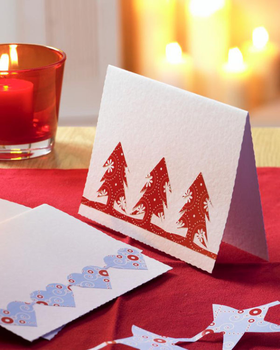 Beautiful DIY & Homemade Christmas Greeting Cards By Mail (12)