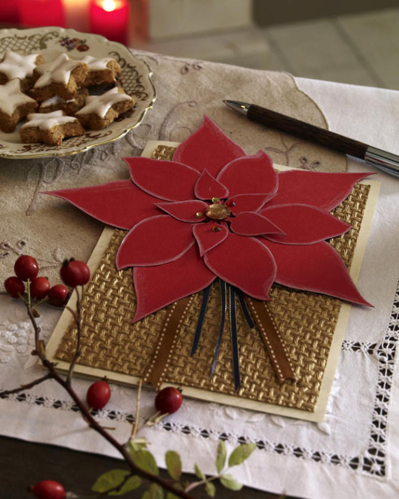 Beautiful DIY & Homemade Christmas Greeting Cards By Mail (13)