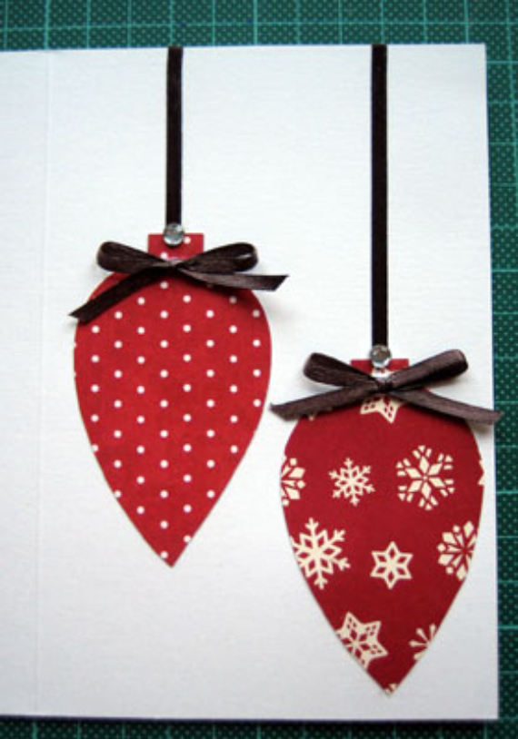 Beautiful DIY & Homemade Christmas Greeting Cards By Mail (6)