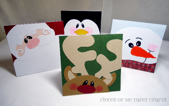 Beautiful DIY & Homemade Christmas Greeting Cards By Mail (7)