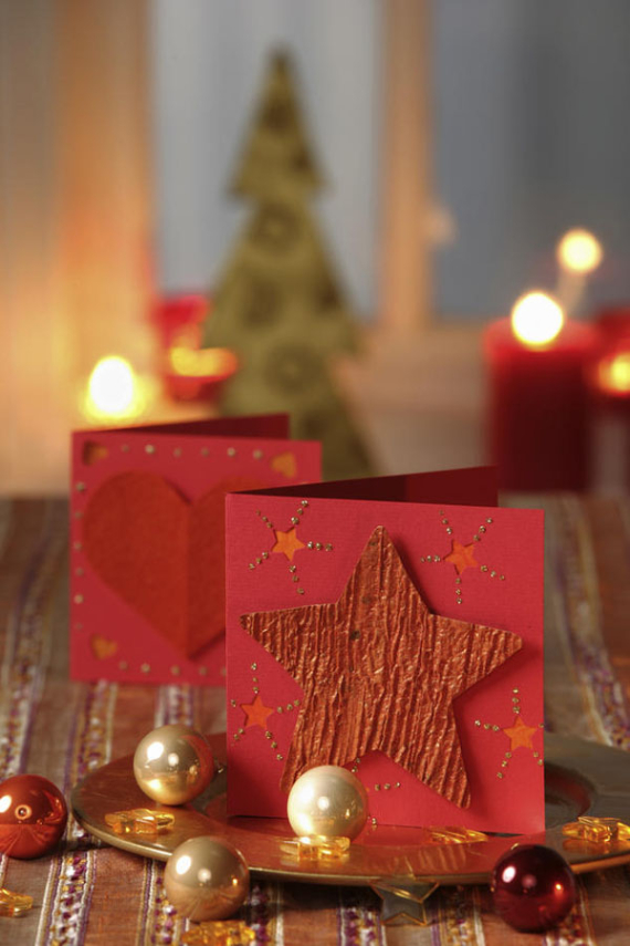 Beautiful DIY & Homemade Christmas Greeting Cards By Mail (9)