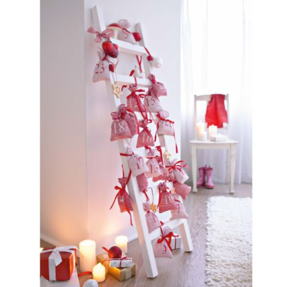 70 fabulous christmas advent calendar inspirational ideas for Advent decoration ideas