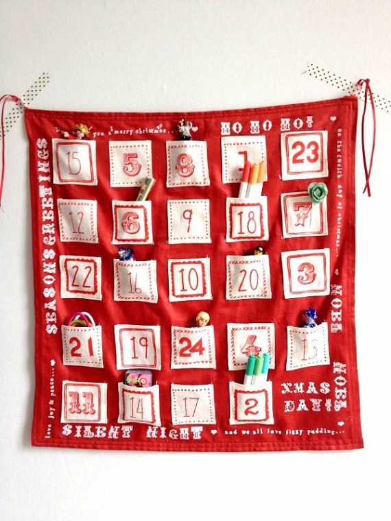 Craft decoration ideas christmas advent calendar inspirational ideas
