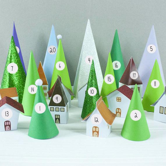 Christmas Advent Calendar Inspirational Ideas (67)