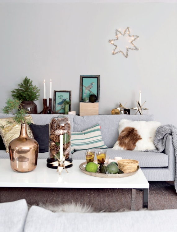 Christmas Decor In Shades Of Green (1)