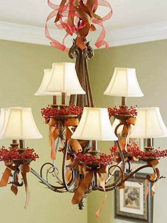 source christmas pendant lights and chandeliers 10 - How To Decorate A Chandelier For Christmas