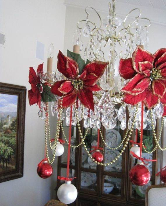 christmas pendant lights and chandeliers 21 - Christmas Chandelier Decorations