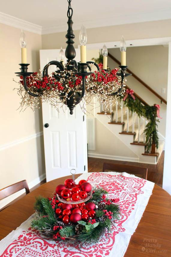 christmas pendant lights and chandeliers 31 - How To Decorate A Chandelier For Christmas