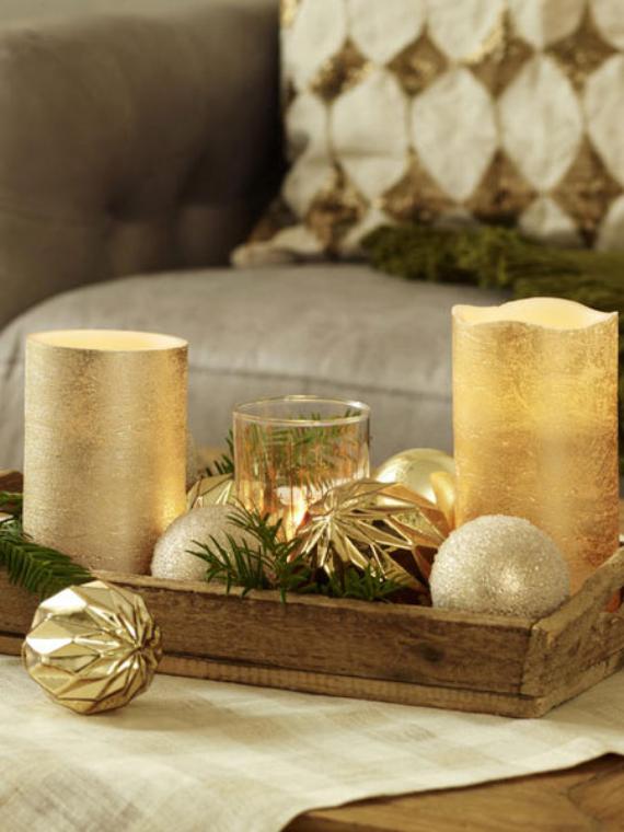 DIY Christmas Table Setting& Centerpieces Ideas (10)