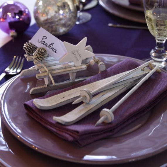 DIY Christmas Table Setting& Centerpieces Ideas (20)