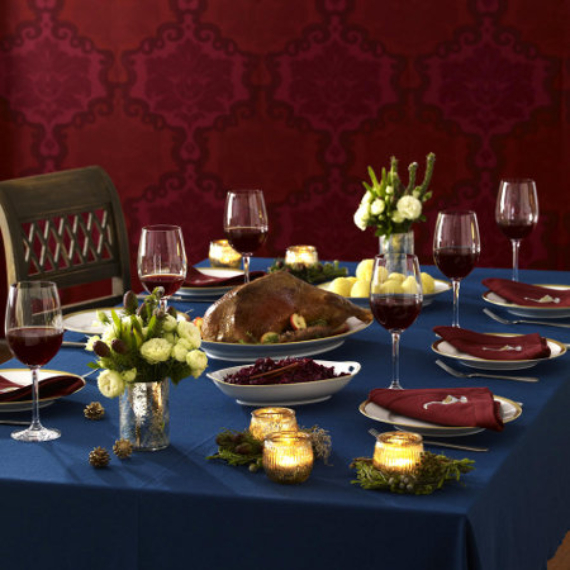 DIY Christmas Table Setting& Centerpieces Ideas (21)