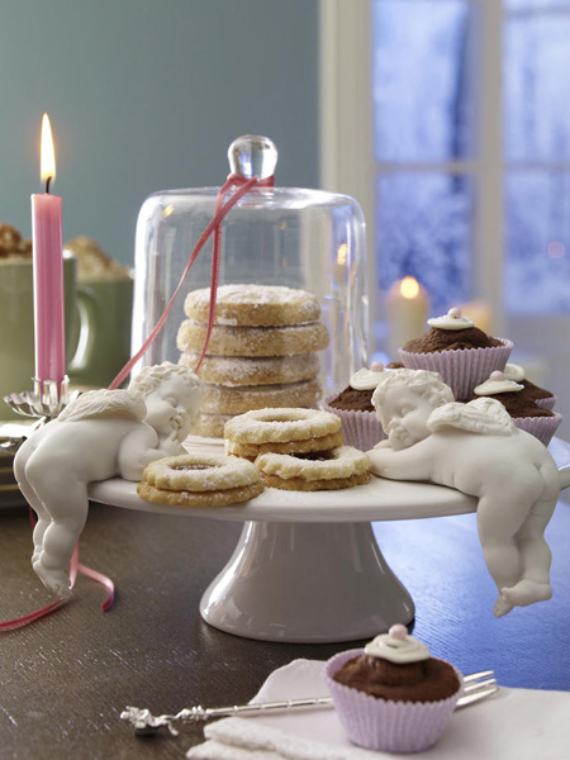 DIY Christmas Table Setting& Centerpieces Ideas (3)