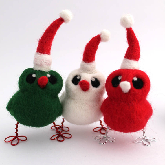 Felt Christmas Crafts (5)