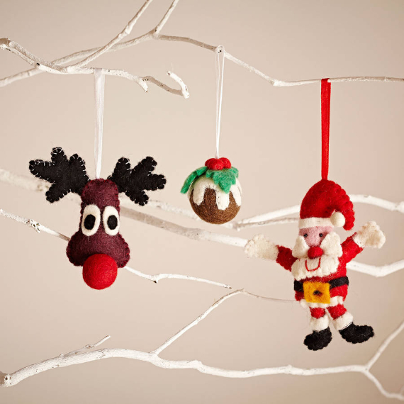 Felt Christmas Crafts (7)