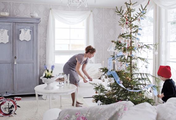 Romantic Home Ideas Christmas Decor Galore (7)