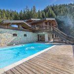 Ski Lodge Aurore A Spectacular Chalet-Inspired Modern Villa French village Meribel