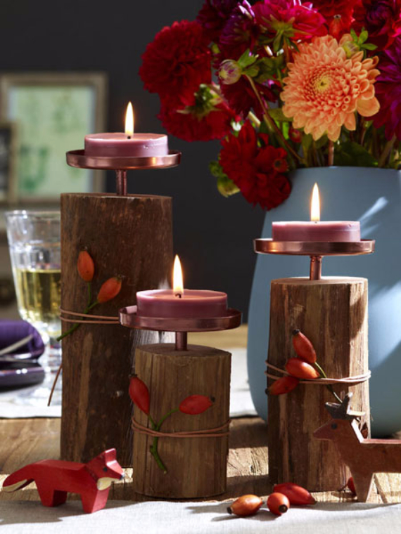 45 thanksgiving ideas for the festive dinner and decor for Thanksgiving decorating ideas 2015