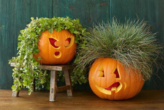30 Handmade Halloween Pumpkin Craft Decoration Ideas (3)
