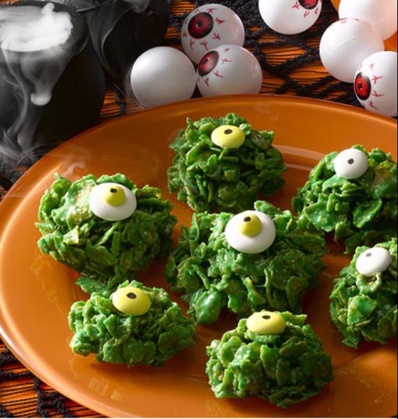 50 Creepy Halloween Treats with Delicious Edible Decoration Ideas (19)