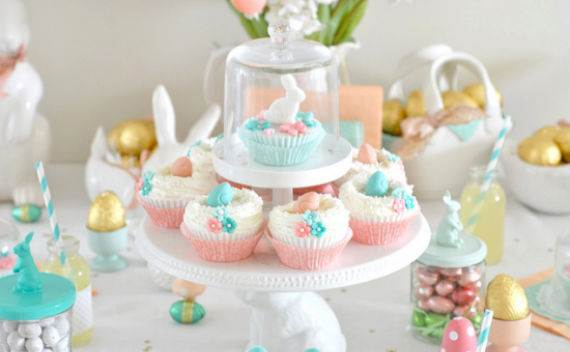 Creative Easter Table Setting Ideas In Blue And