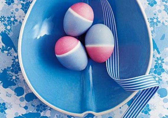 Creative Easter Table Setting Ideas In Blue And White (5)