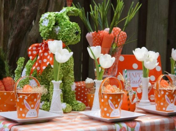Creative Romantic Ideas for Easter Decoration For A Cozy Home (1)