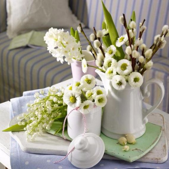 Creative Romantic Ideas for Easter Decoration For A Cozy Home (10)