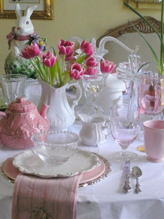 Creative Romantic Ideas for Easter Decoration For A Cozy Home (28)