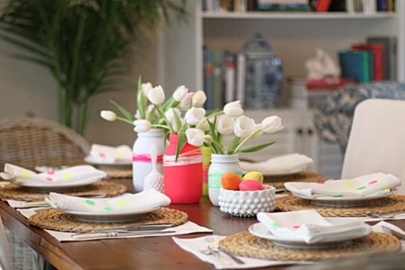 Creative Romantic Ideas for Easter Decoration For A Cozy Home (30)