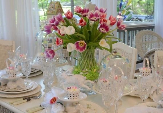 Creative Romantic Ideas for Easter Decoration For A Cozy Home (42)