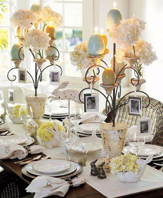 Creative Romantic Ideas for Easter Decoration For A Cozy Home (46)