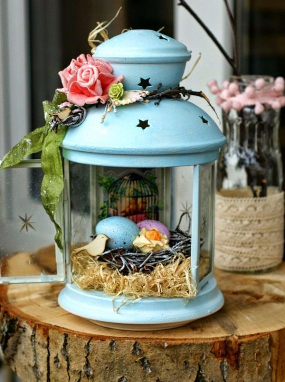 Creative Romantic Ideas for Easter Decoration For A Cozy Home (51)