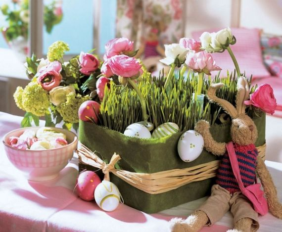 Creative Romantic Ideas for Easter Decoration For A Cozy Home (68)