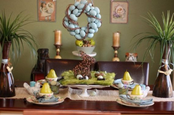 Creative Romantic Ideas for Easter Decoration For A Cozy Home (81)