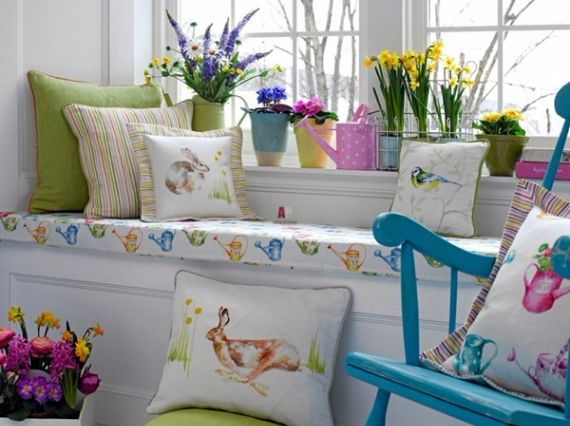 Creative Romantic Ideas for Easter Decoration For A Cozy Home (86)
