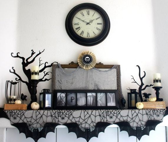Elegant Gothic, Ghastly & Gory Halloween Decorations (15)